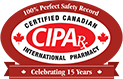 Canadian International Pharmacy Association trust seal